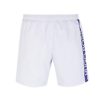 Shorts de bain BOSS Bodywear Dolphin White