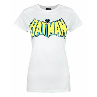 Red Label Batman Retro Logo Women's T-Shirt