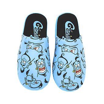 Disney Aladdin Genie Kvinnor & apos, blå 100% polyester tofflor