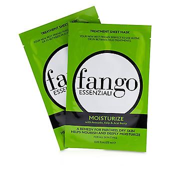 Fango Essenziali Moisturize Treatment Sheet Masks 4x25ml/0.83oz