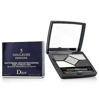 5 Couleurs designer all in one professional eye palette no. 008 smoky design 204083 5.7g/0.2oz
