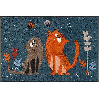 wash+dry doormat Fritz & Friedegunde 50 x 75 cm washable dirt mat