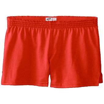 Soffe Big Girls' New Short, Cayenne, Small