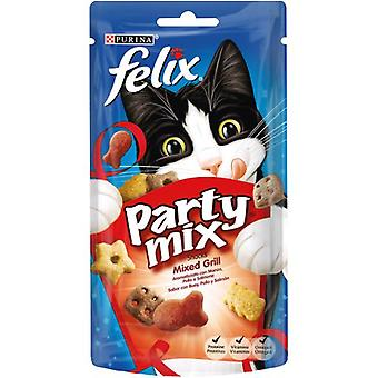 Felix Snack Party Mix Mixed Grill (Cats , Treats , Biscuits)