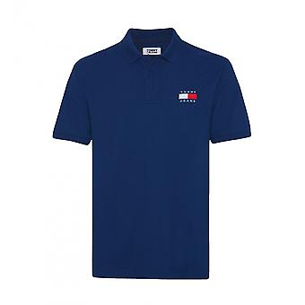 Tommy Hilfiger Blue Polo Badge Polo Polo