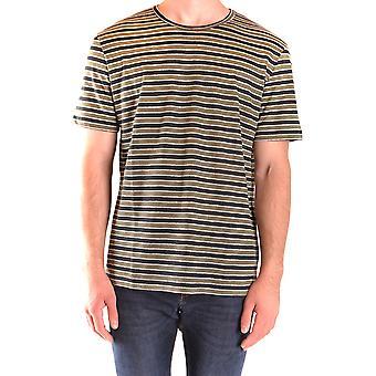 Paolo Pecora Ezbc059060 Men's Green Cotton T-shirt