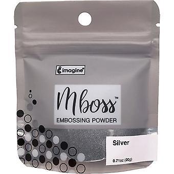 Imagine Mboss Embossing Powder - Silver