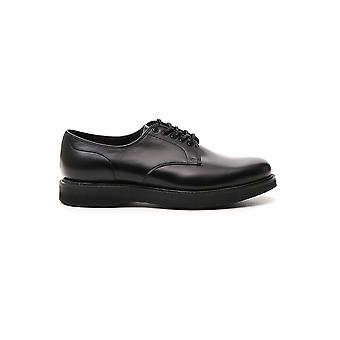 Church's Eec0449snf0ava Men's Black Leather Lace-up Shoes