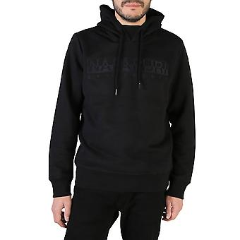 Napapijri Original Men Fall/Winter Sweatshirt - Black Color 38709