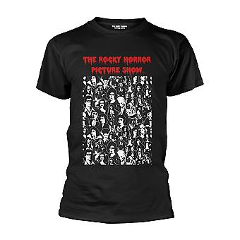 The Rocky Horror Picture Show Personagens Oficial Camiseta tee
