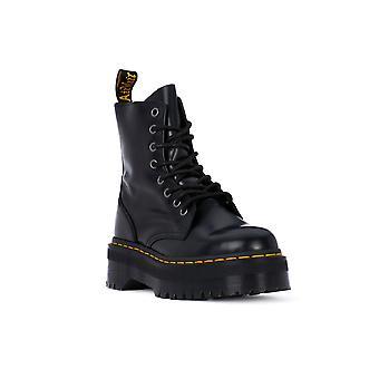 Dr martens jadon zwart gepolijst laarzen/slofjes
