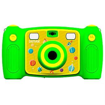 Cámara de fotos compacta Denver Electronics KCA-1320 Verde Yellow