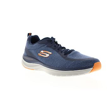 Skechers Ultra Groove Jarmer  Mens Blue Canvas Lifestyle Sneakers Shoes