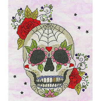 Bothy Threads Cross Stitch Kit - Sugar Skull