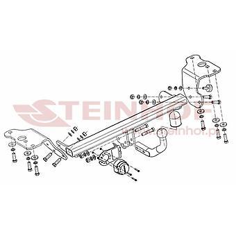 Steinhof Towbar (fixes 2 bolts) for Toyota AURIS 2012-2015