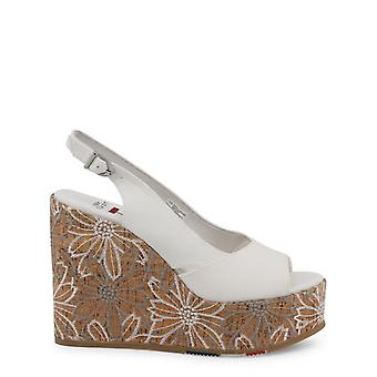 Woman leather wedges shoes ua13943