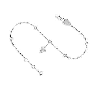 Anklet Cheops hanging 18K Gold and Diamonds - White Gold
