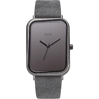 M&M Germany M11947-885 Square line Ladies Watch