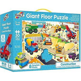 Galt - Giant Floor Puzzle - Construction Site  - Age 3-6