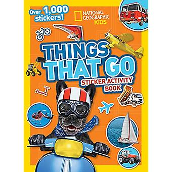 Things That Go Sticker Activity Book - Over 1 -000 stickers! by Nation