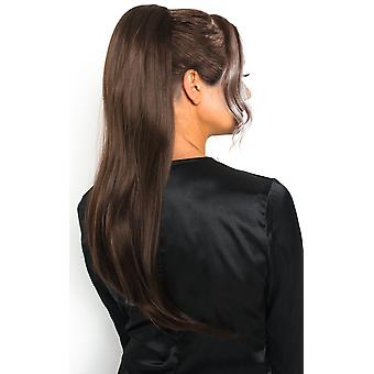 IKRUSH Womens Fifi Long Straight Ponytail Hair Extensions
