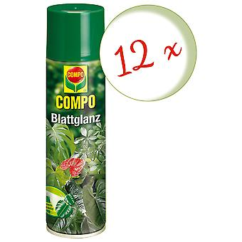 Sparset: 12 x COMPO leaf gloss, 300 ml