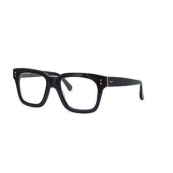 Linda Farrow LFL71 C1 Black Yellow Gold Glasses