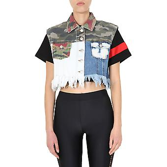 Gcds Ss20w040074mx Women's Multicolor Cotton Vest