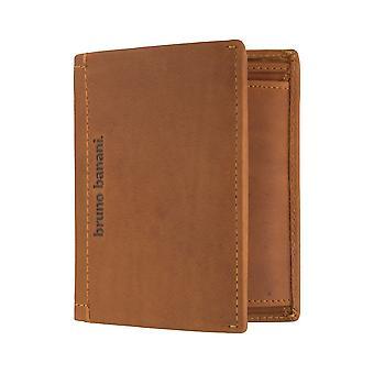 Bruno banani heren portemonnee wallet portemonnee Cognac 6398