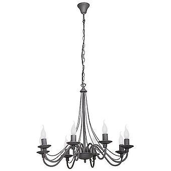 Lampe pendentif en métal métal lilium, L65xP65xA108 cm