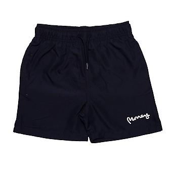 Boy's Money Junior Block Panel Swim Shorts in Blue