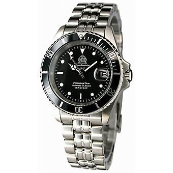Tauchmeister T0250 automatic diving watch 200 meters