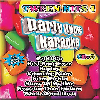 Various Artists - Party Tyme Karaoke: Tween Hits 4 [CD] USA import