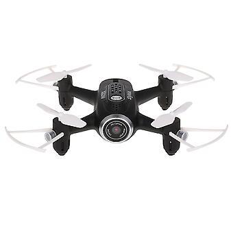 Syma X22W FPV quadcopter preto com câmera HD