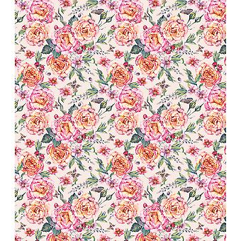 "Craft Consortium Decoupage Papers 13.75""X15.75"" 3/Pkg-Rose Palace"