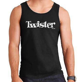 Twister Valkoinen teksti Logo Miehet & apos;