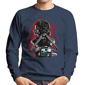 Originale Stormtrooper Imperial TIE Pilot røde Burst menns Sweatshirt