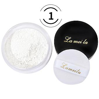 3 Colors Refreshing Mineral Loose Powder - Oil Control Honey Natural Bare Radiance Concealer Light and Delicate Makeup