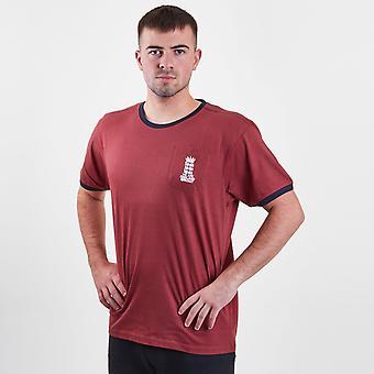 England Cricket Logo Crew Neck T Shirt Mens