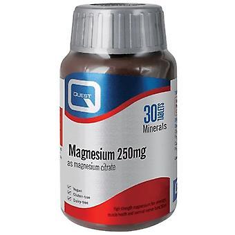 Quest Vitamins Magnesium Citrate Tablets 30 (601390)