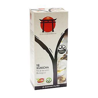 Drie jaar oude kukicha thee 25 pakketten van 42g