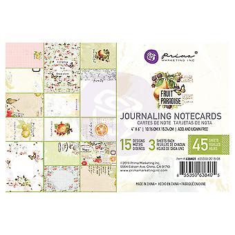 Prima Marketing Fruit Paradise 4 x 6 Zoll Journaling Karten