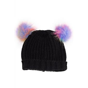 Banned Apparel Sukie Pastel Pom Pom Hat