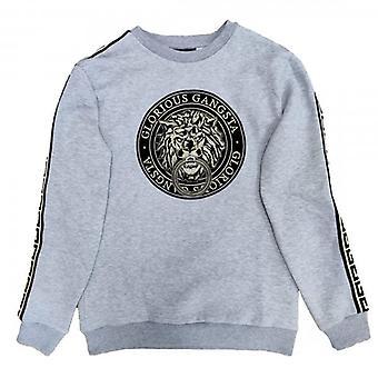 Glorious Gangsta Emmus Grey Crew Neck Sweatshirt
