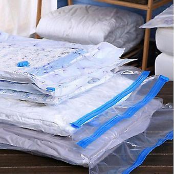 Transparent Convenient Seal Compressed Vacuum Storage Bag Clothes Organizer