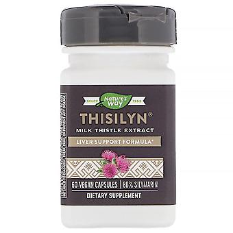 Nature's Way, Thisilyn, Milk Thistle Extract, 60 Vegan Capsules