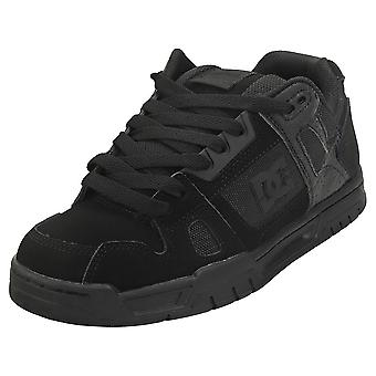 DC Shoes Stag Mens Skate Trainers in Black Black