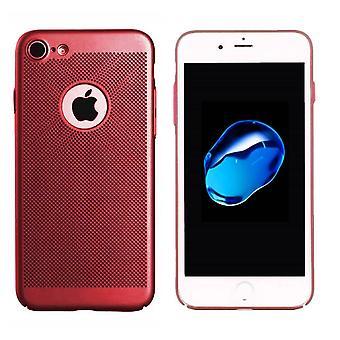 Colorfone iPhone 8 Kuori reikä (punainen)