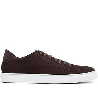 Jones Bootmaker Seth Suede Leather Men's Trainers