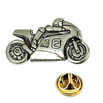 Ties Planet Moto Pewter Lapel Pin Badge